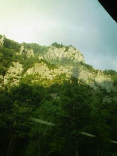 旭岳は霧の中