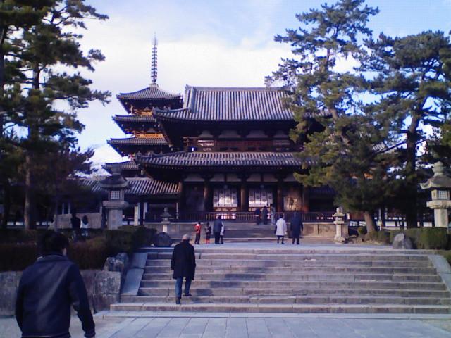 新春旅行、奈良1